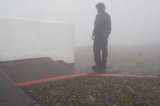 At the top of Croagh Patrick | Auf dem Croagh Patrick