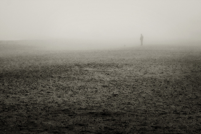 foggy beach (2) | Strand im Nebel (2)