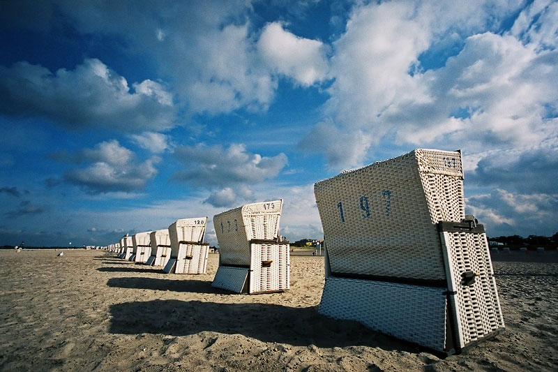 Beach chairs | Strandkörbe