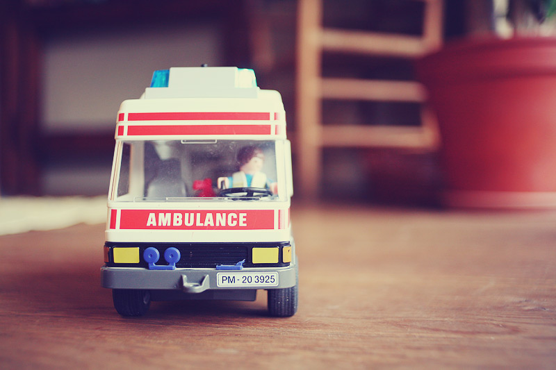 Playmobil Ambulance | Krankenwagen