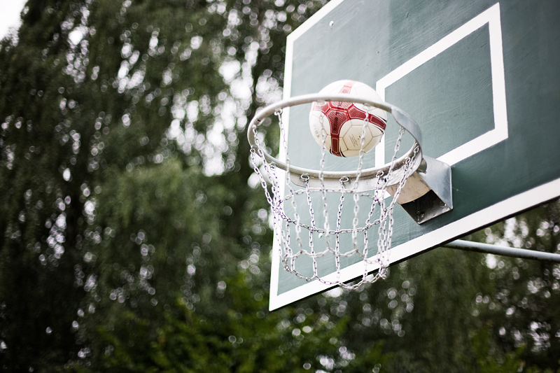 Today: Basketball | Heute: Basketball